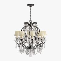 adrianna small chandelier 3d max