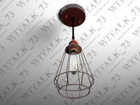 3d model industrial pendant lamp 1