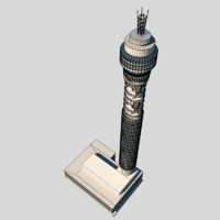 3d medium london tower