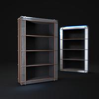 richards -trunk-single-shelving-metal 3d model