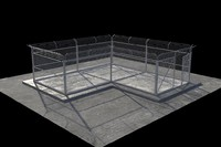 basic fence 3d max