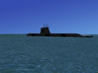 3d model subs collins class submarines
