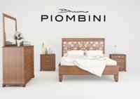 Bedroom Set Bruno Piombini