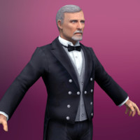 3d butler