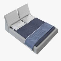 3d moroso highland bed
