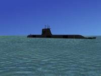 subs collins class submarines 3d max