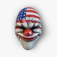 3ds max masks payday