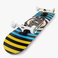 3d max skateboard 32 inch