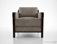 obj holly hunt vienna lounge chair