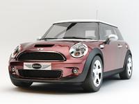 mini cooper s 3d model