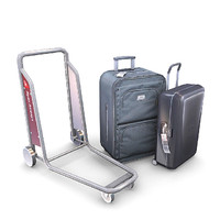 3d model luggage pack