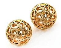 3d sphere earring