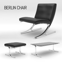 3ds max berlin chair