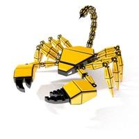 obj scorpion robot