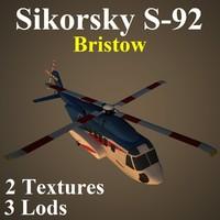 3d model sikorsky bhn