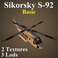 sikorsky basic 3d model