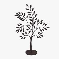 3d cyan design medium sapling