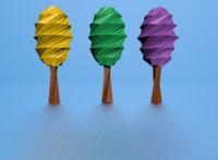 3d model fun tree