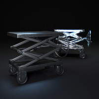 industrial-scissor-lift-table 3d model