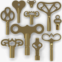 3ds max clock keys 10