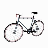3d model bike