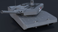 3d leopard mbt revolution model
