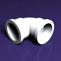 pvc pipe 3d model