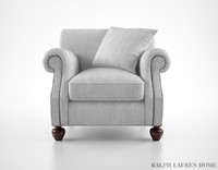 3ds max ralph lauren edwardian armchair