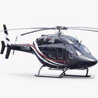 bell 429 black 3d model