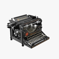 maya retro underwood typewriter