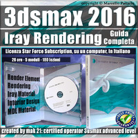 Corso 3ds max 2016 Iray Rendering Guida Completa Subscription