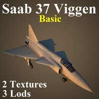 3ds max saab 37 basic