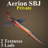 aerion sbj pvt 3d model
