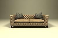 modern sofa design 3d model