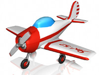 3ds max wing plane yak-52