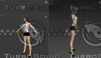 3d woman character female