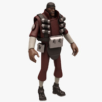 3d model demoman team fortress