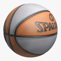 Basketball Spalding Old (4 Colors)