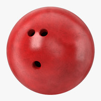 bowling ball red max