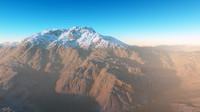 c4d color landscape volcanic