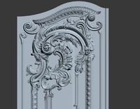 interior carved door max