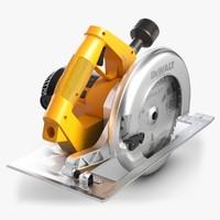 circular saw 3d model