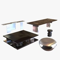 3dsmax table holly hunt