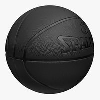 basketball spalding 4 colors 3ds