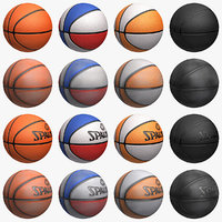 basketball set 3d max
