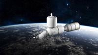 3d design space module model