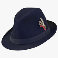 fedora hat 2 blue max