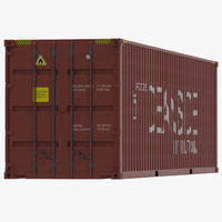 40 ft container red max