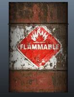 Flamable Barrel