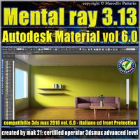 Mental ray 3.13 in 3dsmax 2015 Vol.6 Autodesk Material